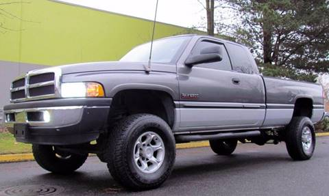 2002 Dodge Ram Pickup 2500 for sale at Platinum Motors in Portland OR