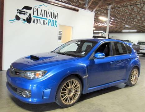 2008 Subaru Impreza for sale at Platinum Motors in Portland OR