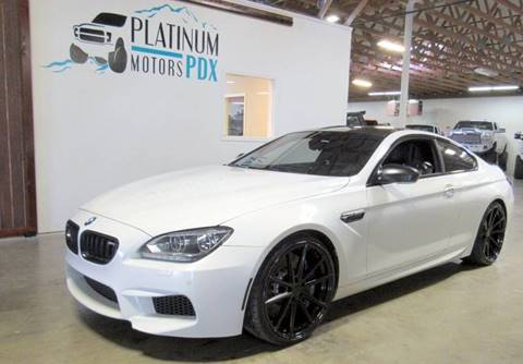 Bmw Oregon >> Used Bmw M6 For Sale In Oregon Carsforsale Com