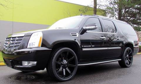2007 Cadillac Escalade ESV for sale at Platinum Motors in Portland OR