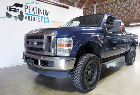 2008 Ford F-250 Super Duty for sale at Platinum Motors in Portland OR