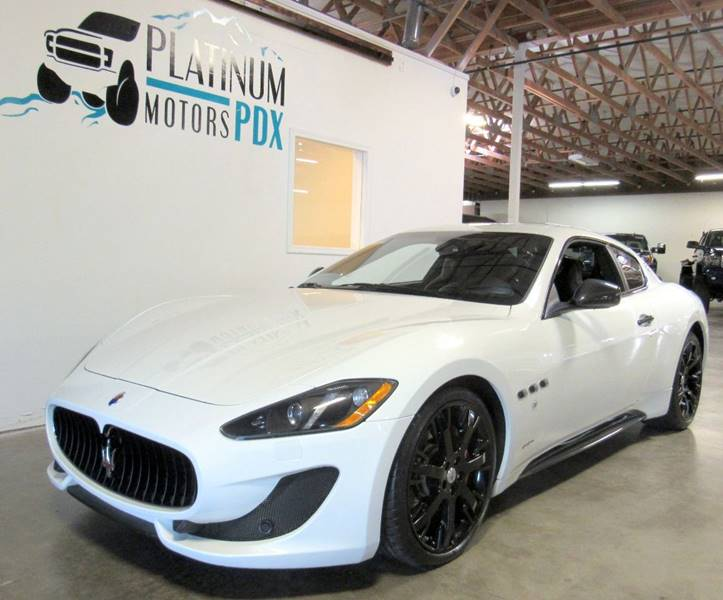2014 Maserati GranTurismo for sale at Platinum Motors in Portland OR