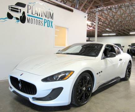 2014 Maserati GranTurismo For Sale In Portland, OR