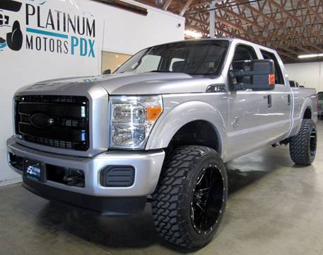 2012 Ford F-350 Super Duty for sale at Platinum Motors in Portland OR