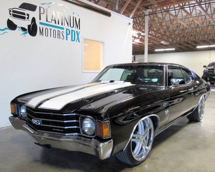 1972 Chevrolet Chevelle for sale at Platinum Motors in Portland OR