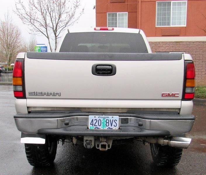Gmc Truck Dealer In Portland Or: 2005 Gmc Sierra 2500Hd 4dr Crew Cab SLT 4WD SB In Portland