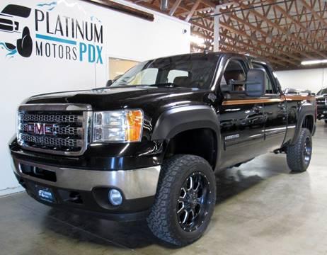 2014 GMC Sierra 2500HD for sale at Platinum Motors in Portland OR