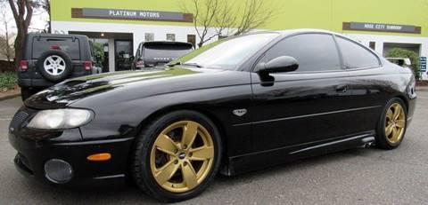 2005 Pontiac GTO for sale at Platinum Motors in Portland OR