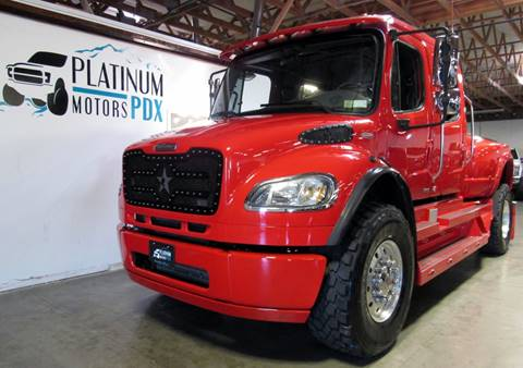 2008 Freightliner M2 106 for sale at Platinum Motors in Portland OR