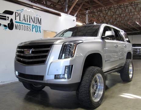 2015 Cadillac Escalade for sale at Platinum Motors in Portland OR