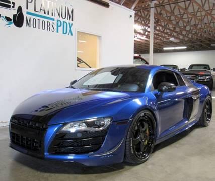 2012 Audi R8 for sale at Platinum Motors in Portland OR
