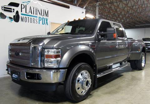 2010 Ford F-450 Super Duty for sale at Platinum Motors in Portland OR