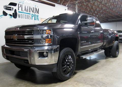 2015 Chevrolet Silverado 3500HD for sale at Platinum Motors in Portland OR