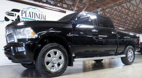 2014 RAM Ram Pickup 3500 for sale at Platinum Motors in Portland OR