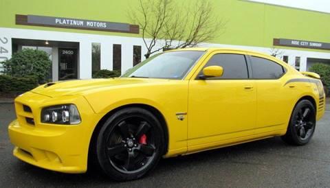 2007 Dodge Charger for sale at Platinum Motors in Portland OR