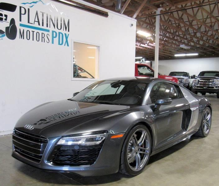 2014 Audi R8 for sale at Platinum Motors in Portland OR
