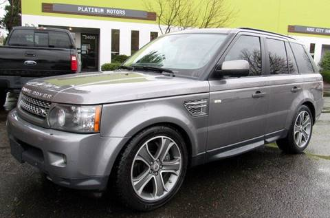 2011 Land Rover Range Rover Sport for sale at Platinum Motors in Portland OR