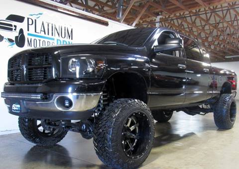 2009 Dodge Ram Pickup 2500 for sale at Platinum Motors in Portland OR