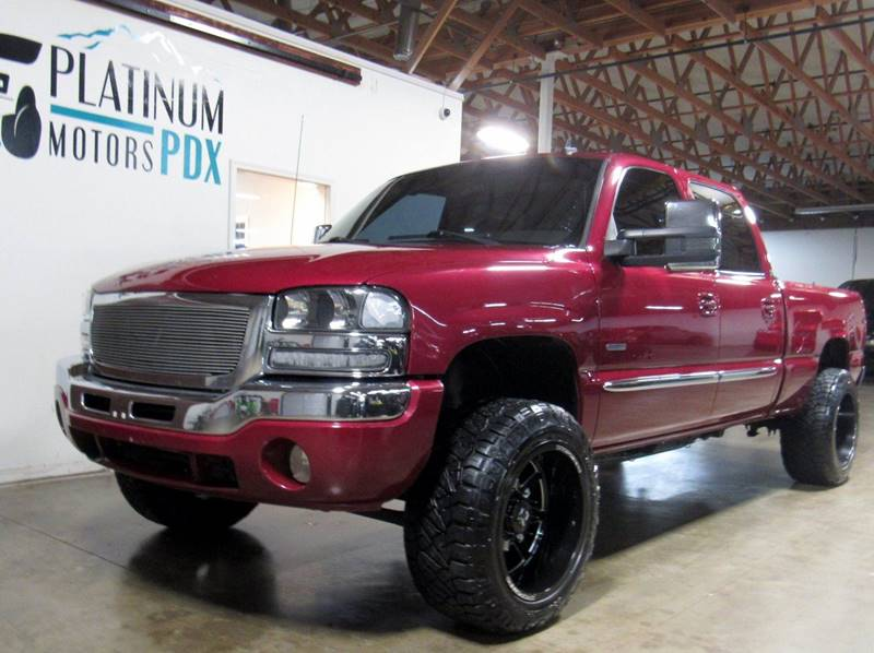 2007 GMC Sierra 2500HD Classic for sale at Platinum Motors in Portland OR