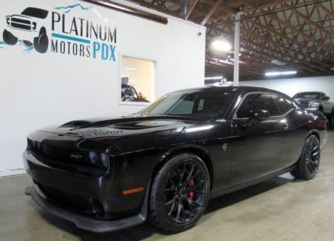 2016 Dodge Challenger for sale at Platinum Motors in Portland OR