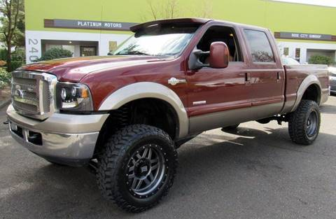 2006 Ford F-250 Super Duty for sale at Platinum Motors in Portland OR
