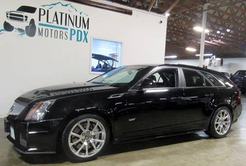 2011 Cadillac CTS-V for sale at Platinum Motors in Portland OR
