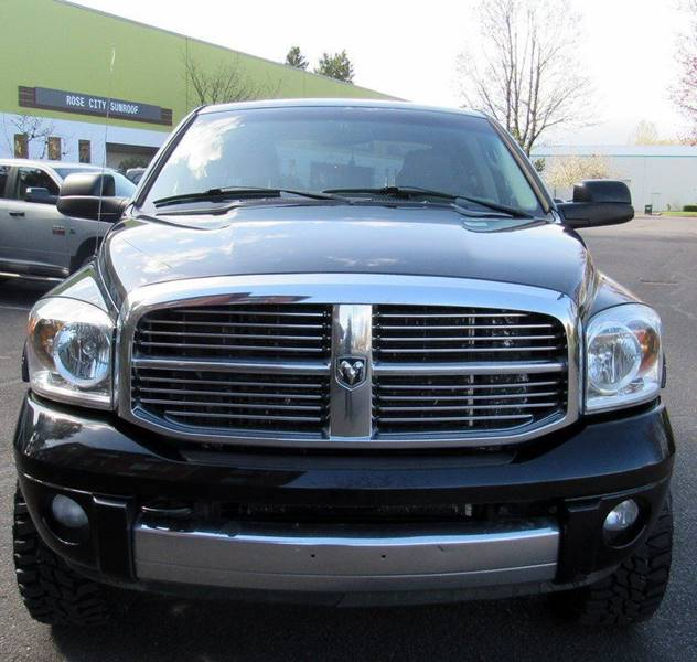 2007 Dodge Ram Pickup 3500 Laramie 4dr Quad Cab 4x4 SB In