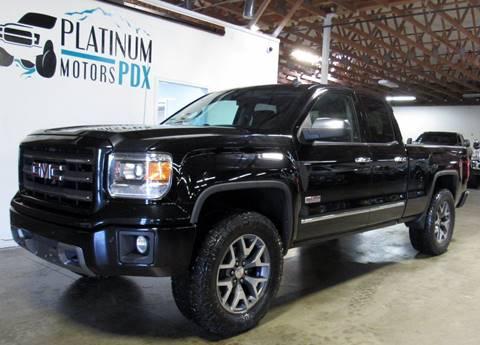 2014 GMC Sierra 1500 for sale at Platinum Motors in Portland OR