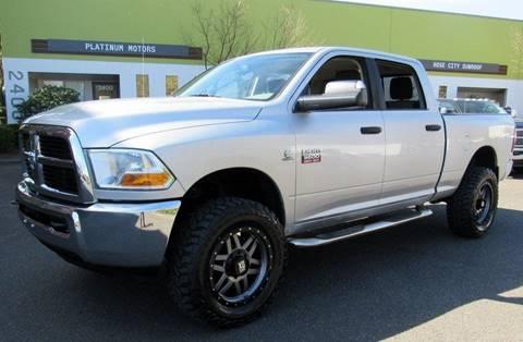 2011 RAM Ram Pickup 3500 for sale at Platinum Motors in Portland OR