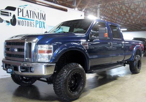 2008 Ford F-350 Super Duty for sale at Platinum Motors in Portland OR