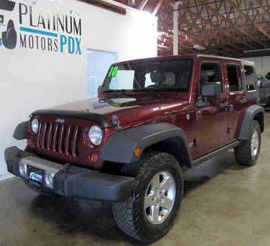 2010 Jeep Wrangler Unlimited for sale in Portland, OR