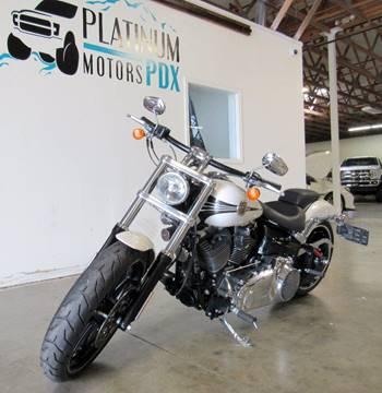 Harley Davidson Portland >> 2014 Harley Davidson Fxsb Breakout For Sale In Portland Or