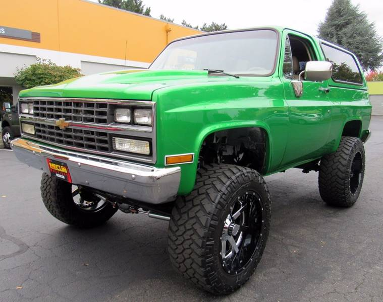 1983 Chevrolet Blazer for sale at Platinum Motors in Portland OR
