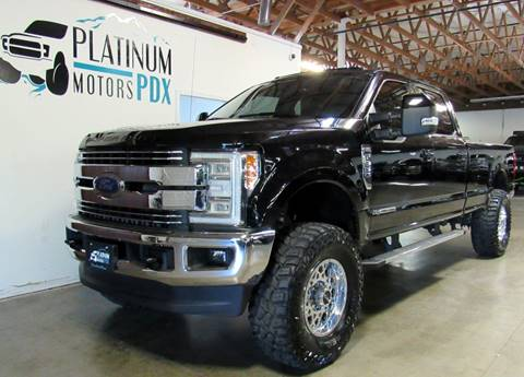2017 Ford F-350 Super Duty for sale at Platinum Motors in Portland OR