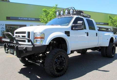 2008 Ford F-450 Super Duty for sale at Platinum Motors in Portland OR