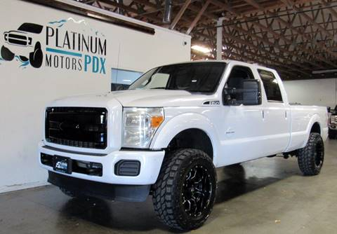 2011 Ford F-250 Super Duty for sale at Platinum Motors in Portland OR