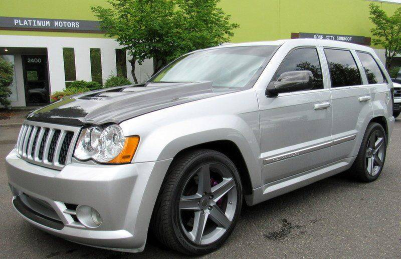 Exceptional 2007 Jeep Grand Cherokee SRT8 4dr SUV 4WD   Portland OR