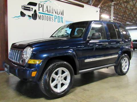 2006 Jeep Liberty for sale at Platinum Motors in Portland OR