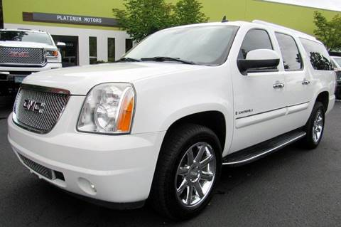2008 GMC Yukon XL for sale at Platinum Motors in Portland OR