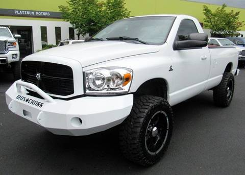 2007 Dodge Ram Pickup 2500 for sale at Platinum Motors in Portland OR