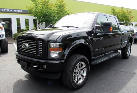 2010 Ford F-350 Super Duty for sale at Platinum Motors in Portland OR