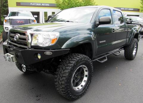 2009 Toyota Tacoma for sale at Platinum Motors in Portland OR