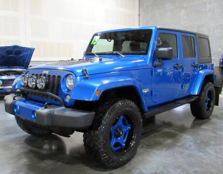 2015 Jeep Wrangler Unlimited for sale at Platinum Motors in Portland OR
