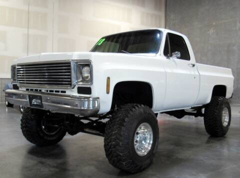 1973 Chevrolet C/K 10 Series for sale at Platinum Motors in Portland OR