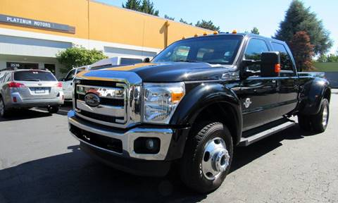 2012 Ford F-450 Super Duty for sale at Platinum Motors in Portland OR