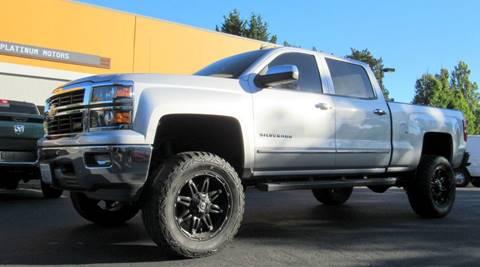 2014 Chevrolet Silverado 1500 for sale at Platinum Motors in Portland OR
