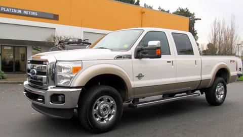 2011 Ford F-350 Super Duty for sale at Platinum Motors in Portland OR