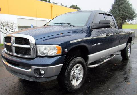 2004 Dodge Ram Pickup 2500 for sale at Platinum Motors in Portland OR