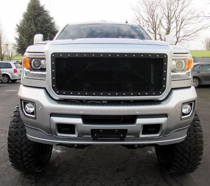 Gmc Truck Dealer In Portland Or: 2015 Gmc Sierra 2500Hd 4x4 Denali 4dr Crew Cab SB In