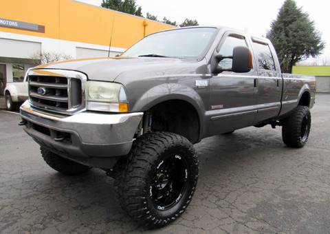 2003 Ford F-250 Super Duty for sale at Platinum Motors in Portland OR